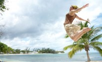 Leaping across Montego Bay!