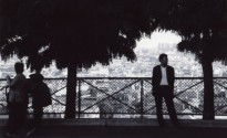 Man in front of Sacre Coeur - Paris 2005