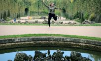 A France leaping larry!