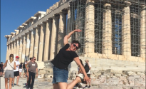 Ancient Athens Leaping!